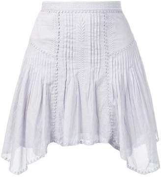 Etoile Isabel Marant asymmetric pleated dress