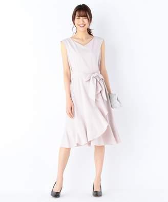 Kumikyoku (組曲) - 組曲 【結婚式やパーティに】2WAYポプリンラッフル ドレス(C)FDB