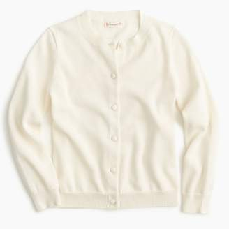 J.Crew Girls' classic Caroline cardigan sweater