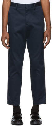 BOSS Navy Kirio Trousers