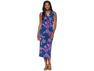 Tommy Bahama San Lucia Wrap Midi Dress Women's Dress