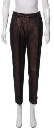 Salvatore Ferragamo Straight-Leg High-Rise Pants