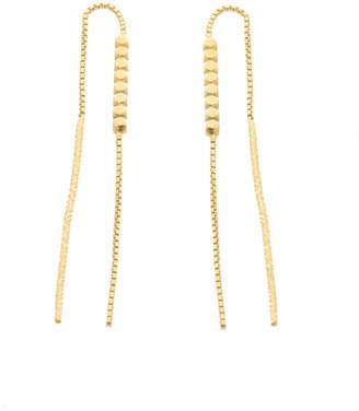 6ba104a27 Louise Wade Mini Vincent Chain Thread Through Earrings