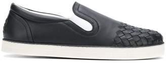 Bottega Veneta Intrecciato calf sail sneakers