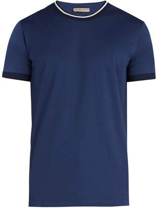 Bottega Veneta Contrast-trim cotton T-shirt