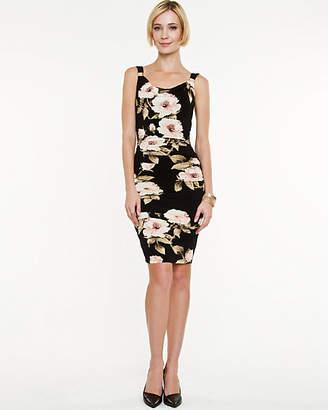 Le Château Floral Knit Sleeveless Dress