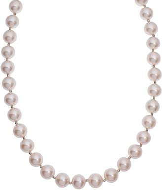 Swarovski Crystal Avenue Silver-Plated Simulated Pearl Necklace - Made with Crystals
