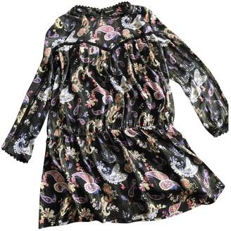 Berenice Multicolour Silk Dress for Women