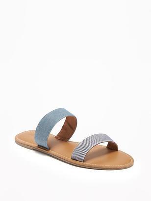 Double-Strap Sandals for Women $19.94 thestylecure.com