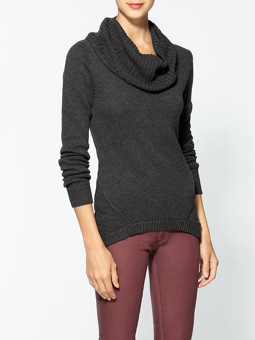 LAmade Long Sleeve Mock Neck Sweater
