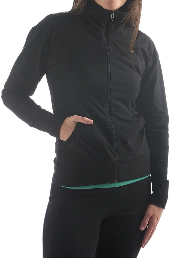 Yala Aspire Short Jacket - Stretch Organic Cotton (For Women)
