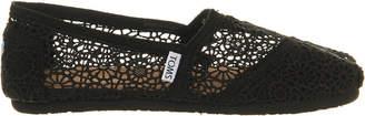 Toms Crochet slip-on espadrille shoes $48 thestylecure.com