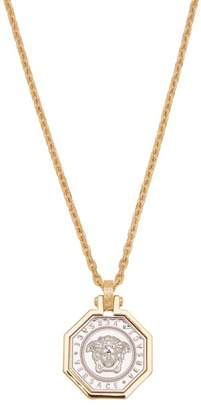 Versace - Medusa Two Tone Chain Pendant - Mens - Gold