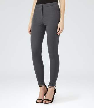 Reiss Darla Jacquard Skinny Tailored Trousers