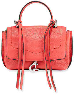 Rebecca Minkoff Stella Mini Leather Satchel Bag