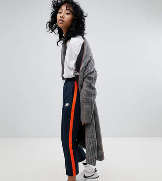 Nike Polyknit Track Pants In Blue And Orange