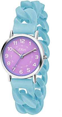 S'Oliver Girls' Watch SO-3427-PQ