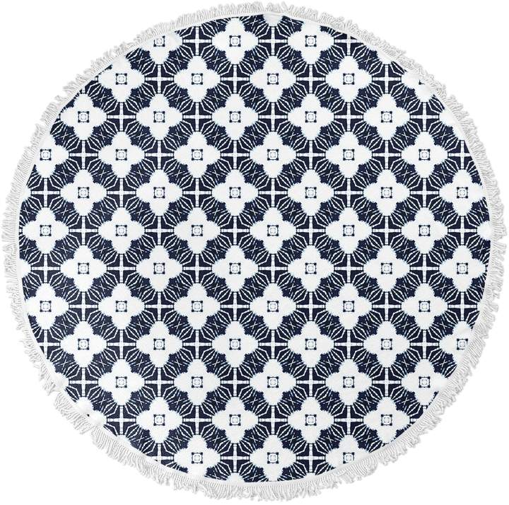 Kavka Designs Amara Round Beach Towel