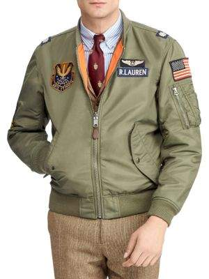 Polo Ralph Lauren Military Bomber Jacket