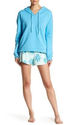Free Press Dolphin Hem Terry Beach Shorts