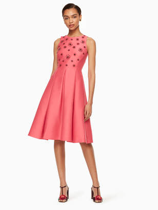 dd35cd28de2 Kate Spade embellished fit and flare dress