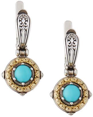 Konstantino Hermione Turquoise Drop Earrings