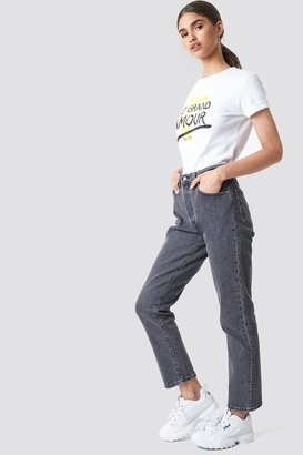 Levi's 501 Crop Jeans Diamond In The Rough