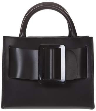 Boyy Bobby 23 Black Leather Tote Bag