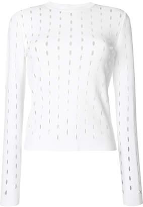 Sportmax laser cut sweater
