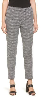 Women's Boss Acrila Slim Jacquard Suit Trousers $245 thestylecure.com