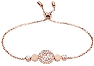 Fossil Disc Mother-Of-Pearl Bracelet Jewelry