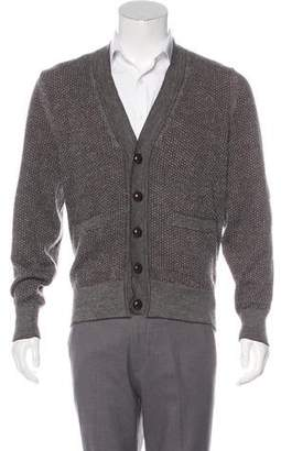Tom Ford Merino Wool & Alpaca Cardigan