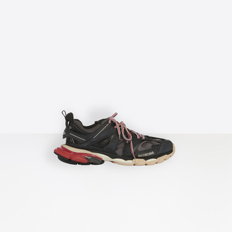 Balenciaga Track trainers in black, red and white mesh and nylon