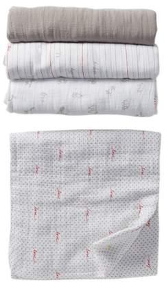 Aden Anais aden + anais Iconic Swaddle Blanket - Set of 4