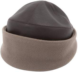 Hermes Leather Hat