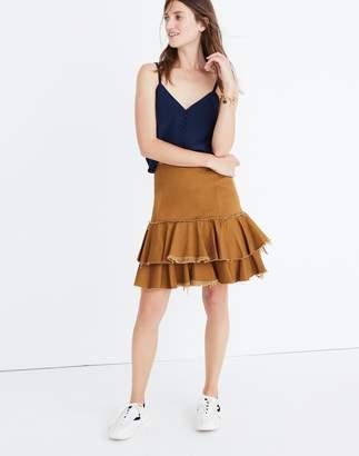 Madewell Karen Walker Saddle Tiered Skirt
