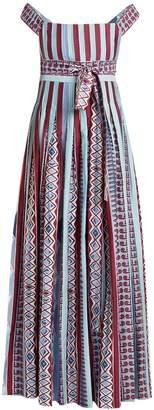 Le Sirenuse LE SIRENUSE, POSITANO Gretta Arlechino-print cotton dress