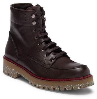 Donald J Pliner Larz Side Zip Logger Boot