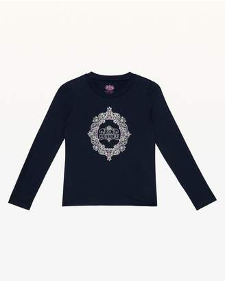 Juicy Couture Ornate Cameo Juicy Long Sleeve Tee for Girls