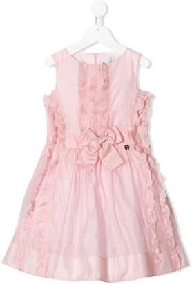 Simonetta sleeveless ruffled dress