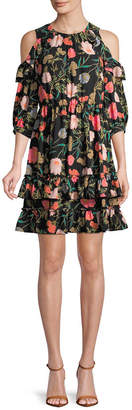 Kate Spade Blossom Cold-Shoulder Shift