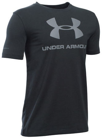 Under Armour Boys 8-20 Logo Graphic Tee