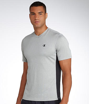 Champion Vapor Heather V-Neck T-Shirt, Activewear - Men's