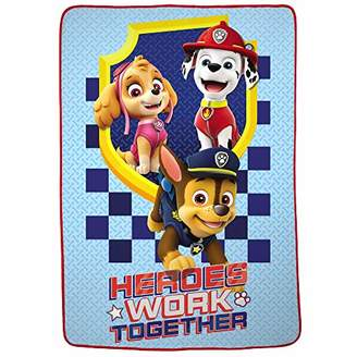 Nickelodeon Paw Patrol Super Soft Plush Microfiber Kids Bedding Blanket