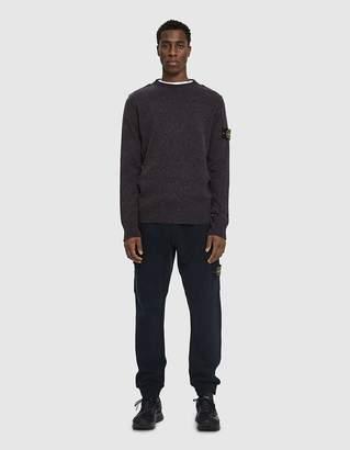 Stone Island Knit Crewneck Sweater in Ink