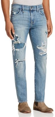 Joe's Jeans Slim Fit Jeans in Dismantle - 100% Exclusive $198 thestylecure.com
