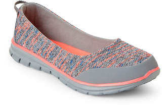 U.S. Polo Assn. Grey & Coral Alli Slip-On Sneakers