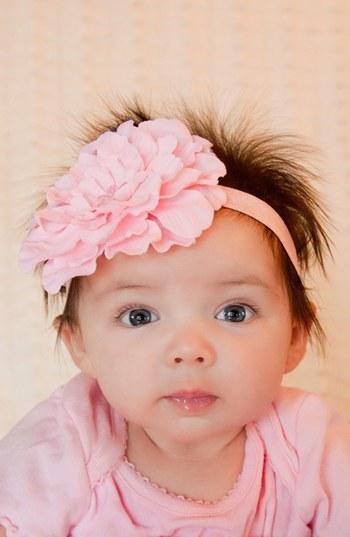 PLH Bows & Laces Flower Headband (Baby Girls & Toddler Girls)