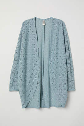 H&M Lace Cardigan - Turquoise