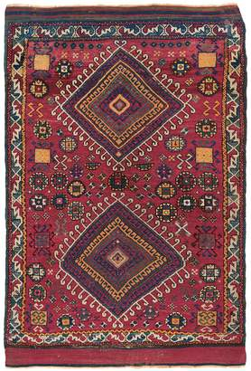 "ABC Home Antique Turkish Wool Rug - 3'6""x5'2"""